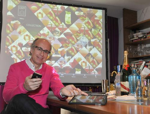 empresario referente en el mundo de la coctelería a nivel mundial, está considerado uno de los más prestigiosos cocktailman del mundo.