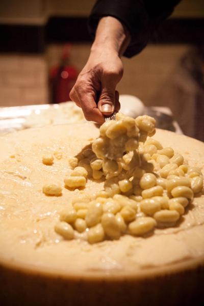 'Gnocchi al castelmagno tartufati'