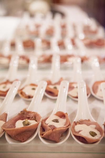 'Vitello-tonnato', una receta a la que no se pudieron resistir los invitados al aniversario de Piazze d'Italia.